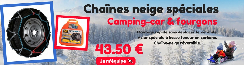 equipement camping car degivrant chaines neige michellin camping car. Black Bedroom Furniture Sets. Home Design Ideas