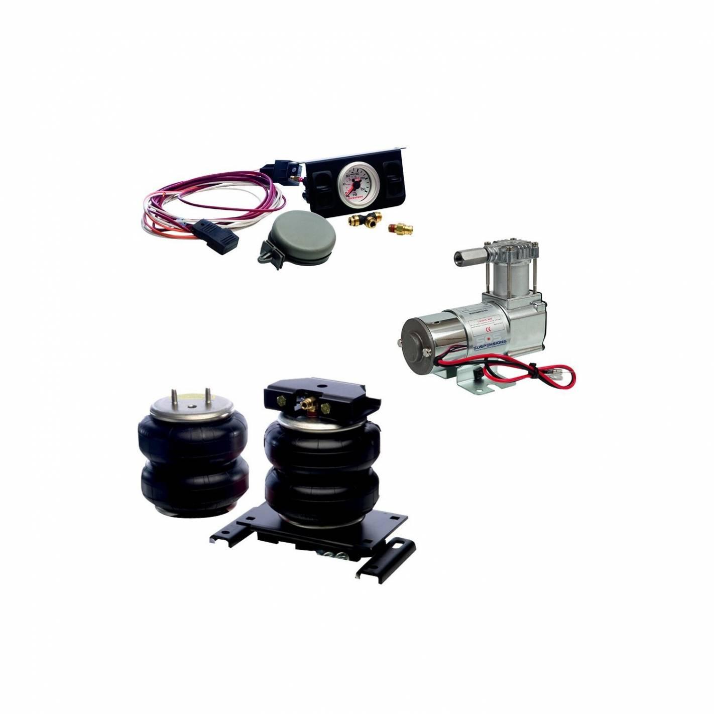 pack suspension kit compresseur double boxer jumper ducato x250 x290 2006 firestone. Black Bedroom Furniture Sets. Home Design Ideas