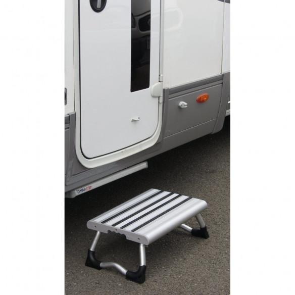 Equipement camping car marchepied marche pieds pliant caravane - Marche pied pliable ...