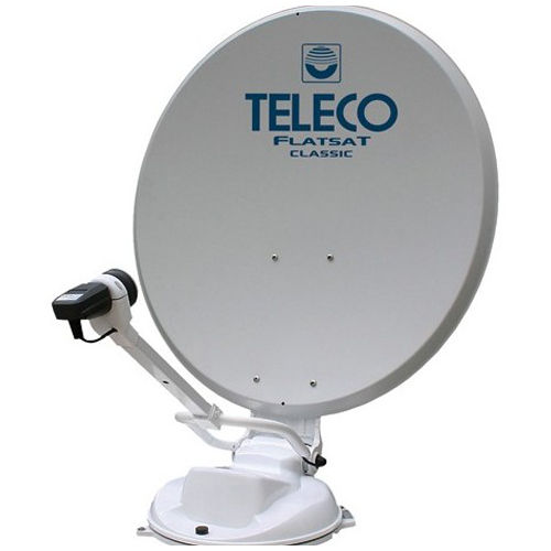 antenne satellite teleco classic85 + démodulateur tnt sat hd