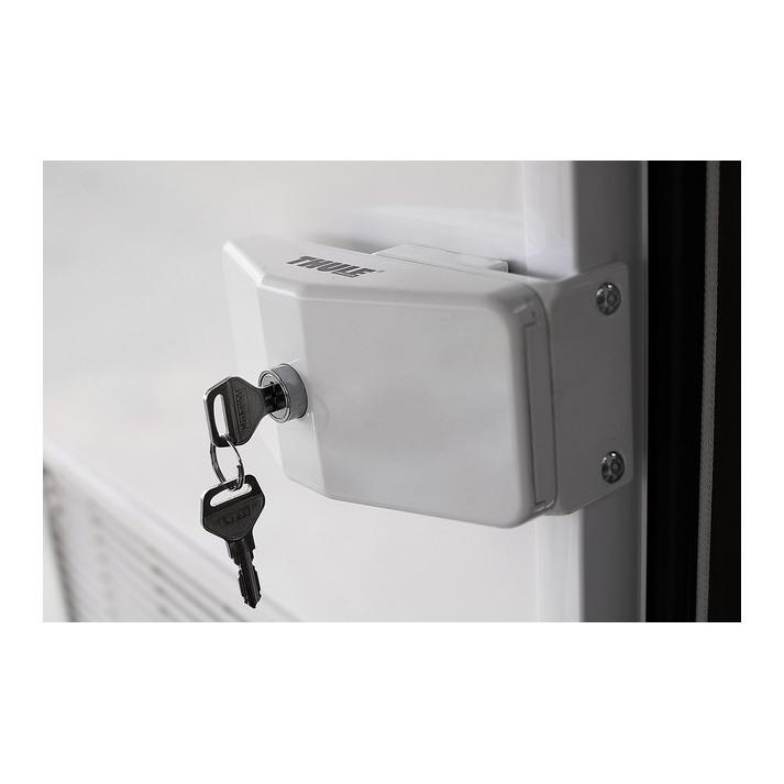 serrure de securit thule door lock frame vendu par 1. Black Bedroom Furniture Sets. Home Design Ideas