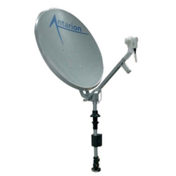 Antennes satellites manuelles