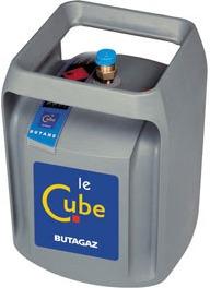 adaptateur butagaz cube sur lyre