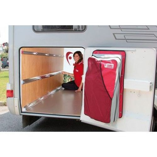 Rail fixation soute 2 pieces garage bars for Amenagement salle de bain camping car