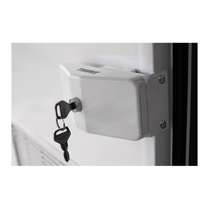 serrure de securite thule door lock frame vendu par 3