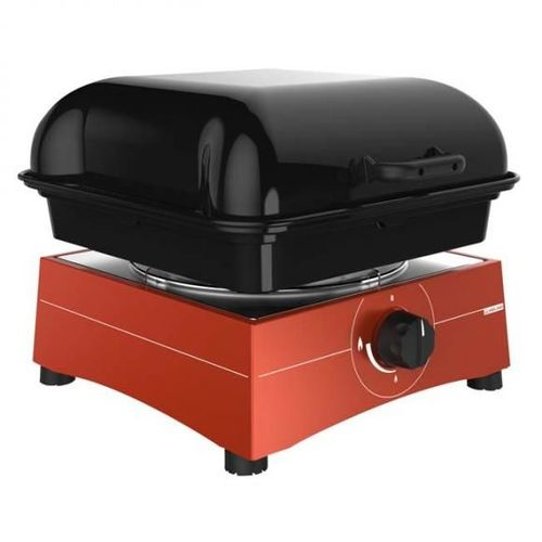 réchaud/grill maxi rouge midland