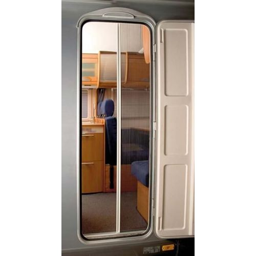 equipement camping car rideaux moustiquaires a rations de portes. Black Bedroom Furniture Sets. Home Design Ideas