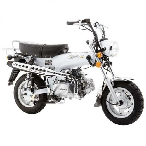 moto skymax club 125 blanche skyteam