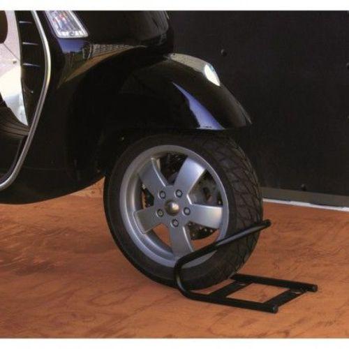 dispositif de blocage pour roue avant moto