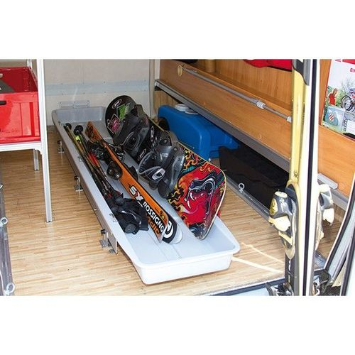 Garage slide pro ski for Equipement interieur camping car