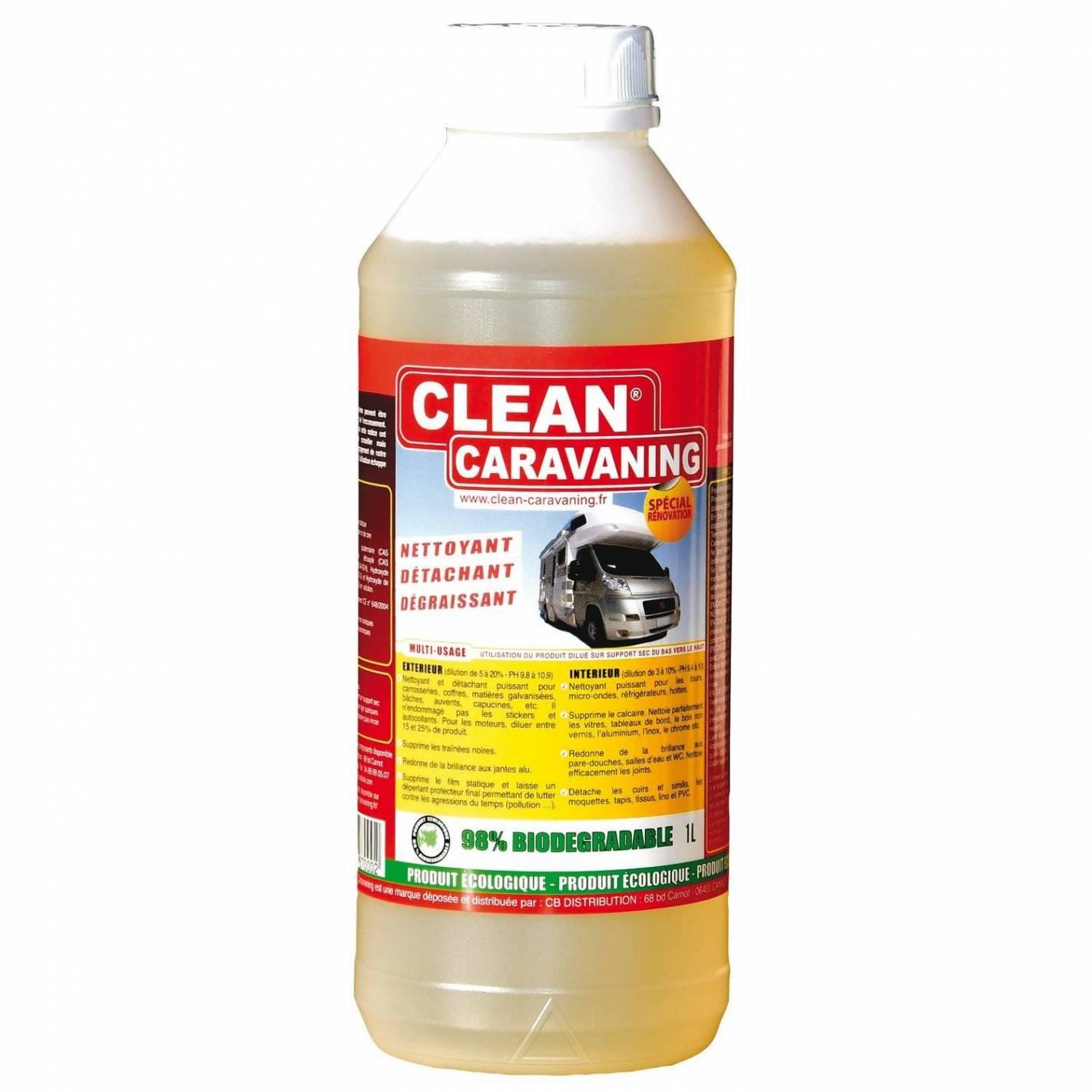 clean caravaning bidon de 1 litre