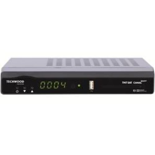 demodulateur satellite tnt sat hd 12volts tk90tnt  techwood