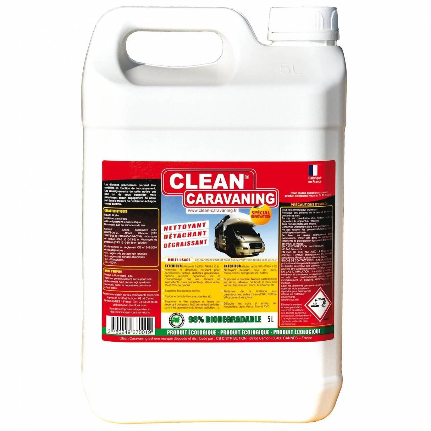clean caravaning bidon de 5 litres