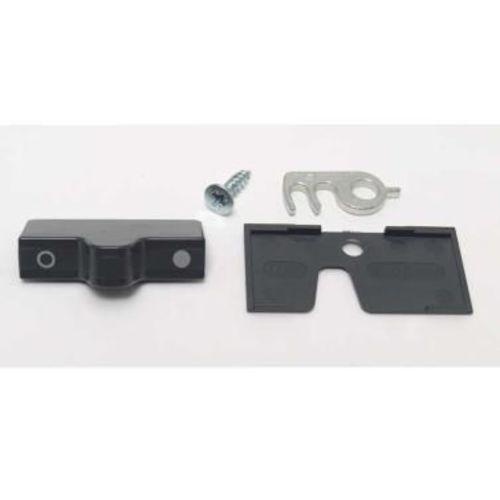 bloc porte anthracite pour refrigerateur a porte courbee et double porte dometic série 7