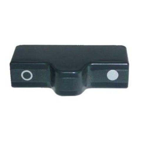 bouton bloc porte anthracite pour refrigerateur dometic série 7