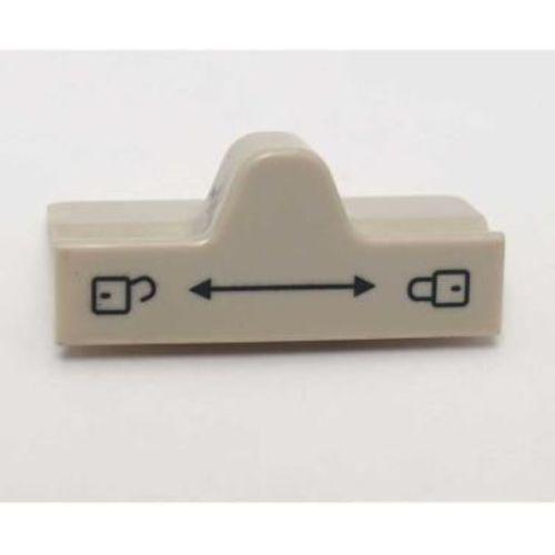 bouton bloc porte beige pour refrigerateur dometic série 7