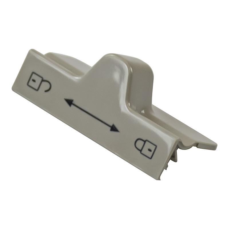 bouton bloc porte gris pour refrigerateur dometic série 7