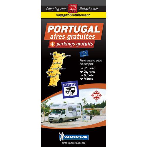 carte portugal des aires et parkings gratuits