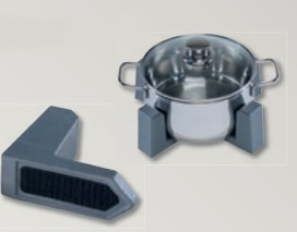 9 supports assiettes et casseroles mod.iii systeme vario