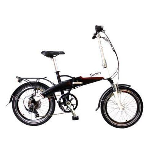 vélo pliant à assistance électrique sporty