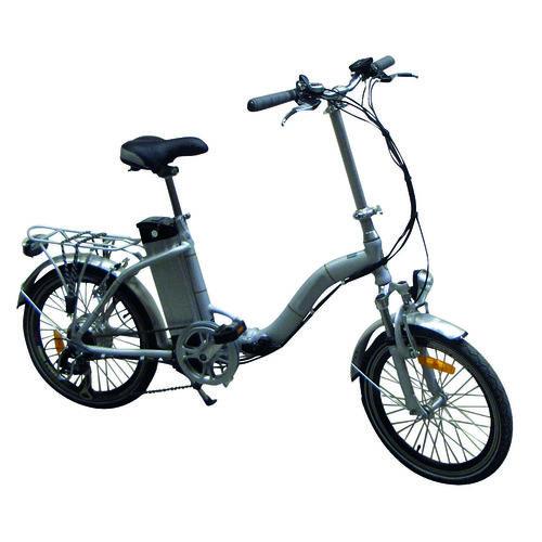vélo pliant à assistance électrique 36v - blanc