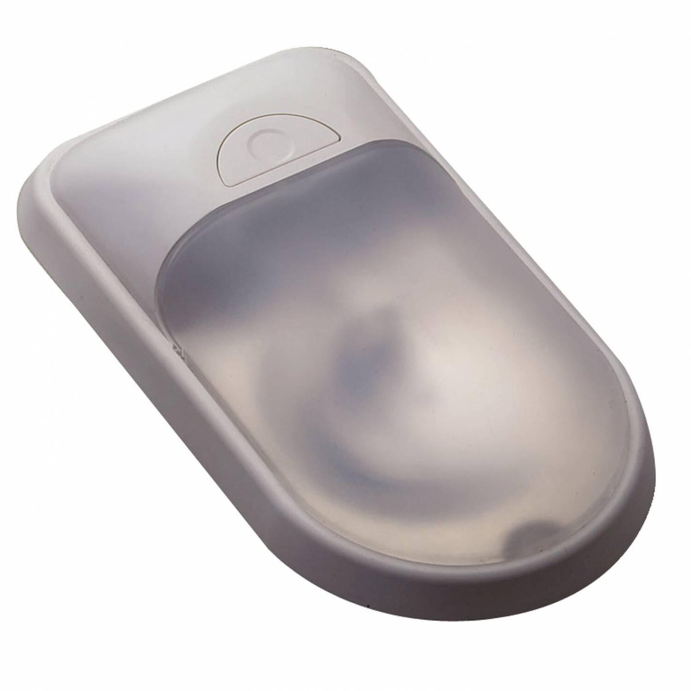 plafonnier à leds simple gris - inovtech