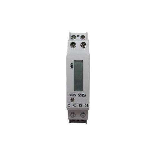 compteur electrique 230v affichage lcd, max 32a+5a