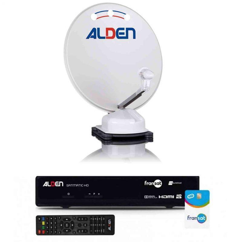antenne satellite automatique orbiter 65 démodulateur satmatic-hd fransat alden