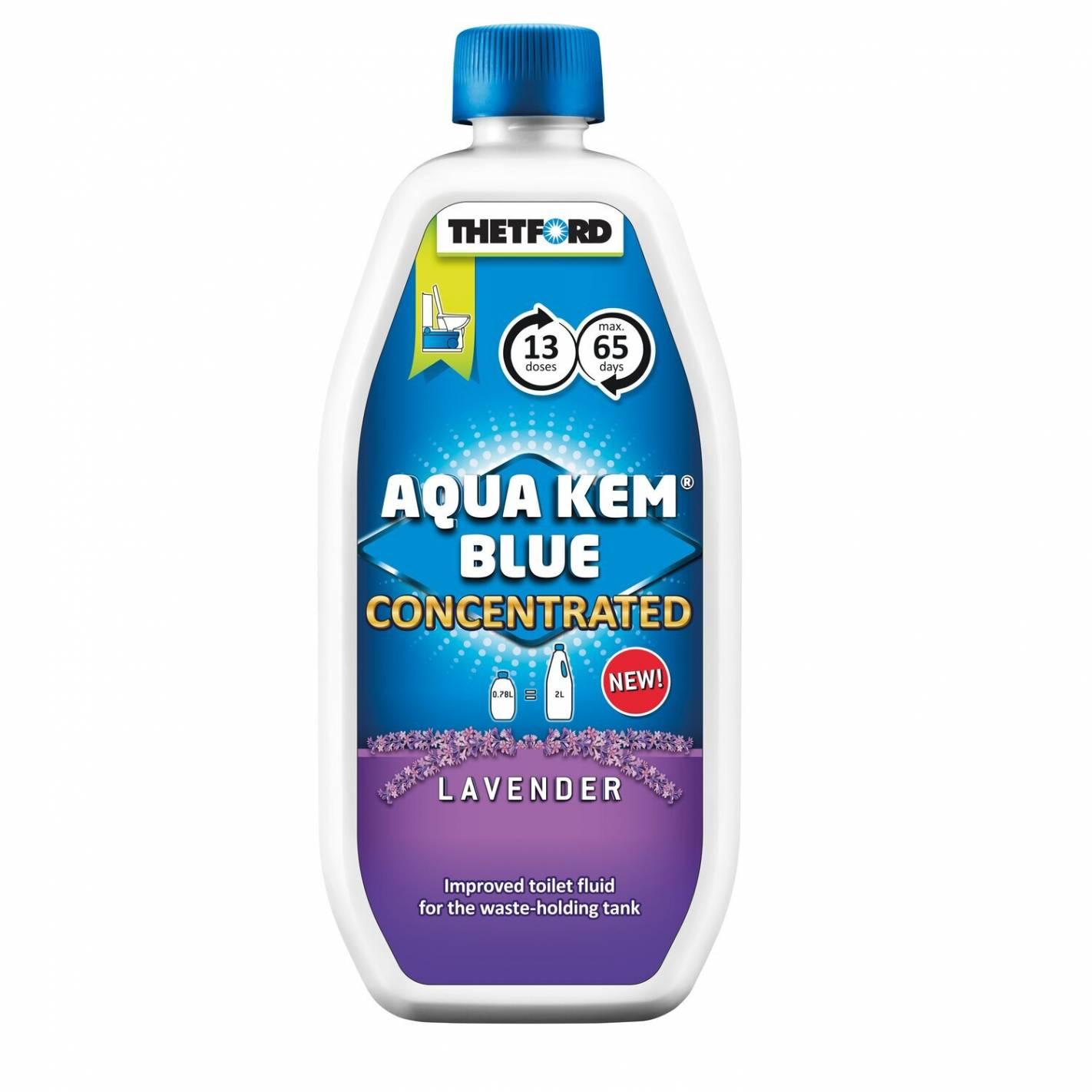 aqua kem blue lavande concentré thetford thetford