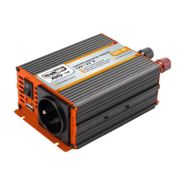 convertisseur 12/ 220volts  300watts usb vechline