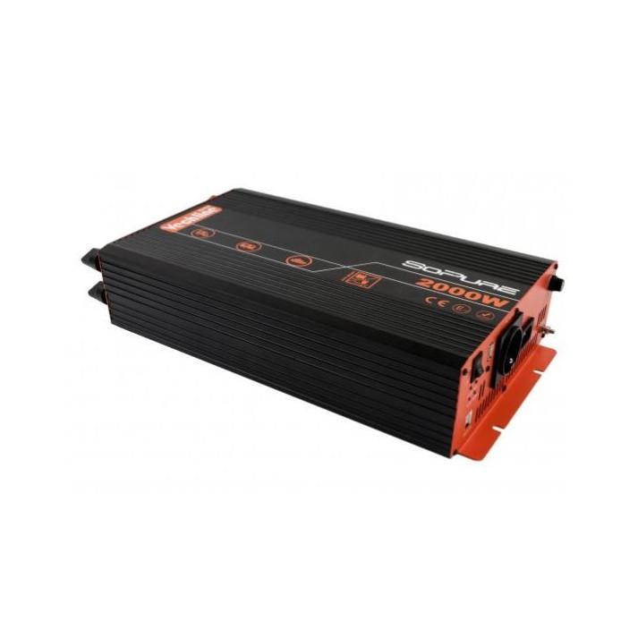 convertisseur pur sinus 2000 w vechline power vechline