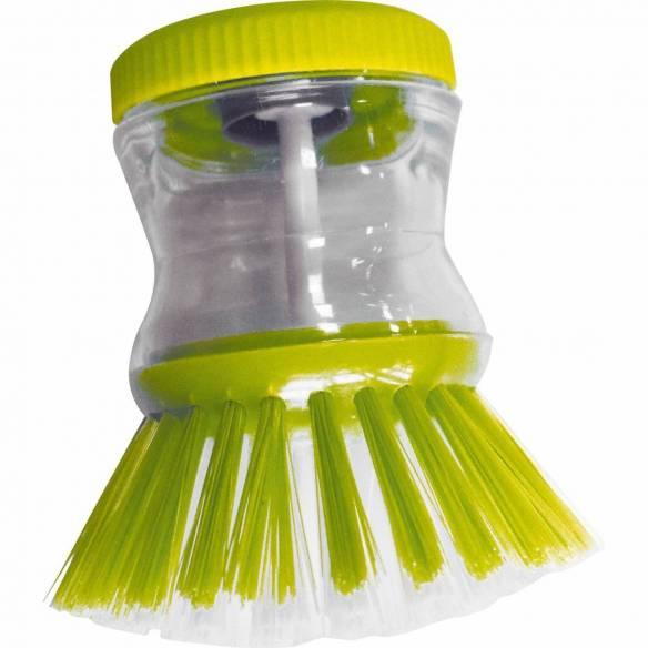 brosse vaisselle avec réservoir