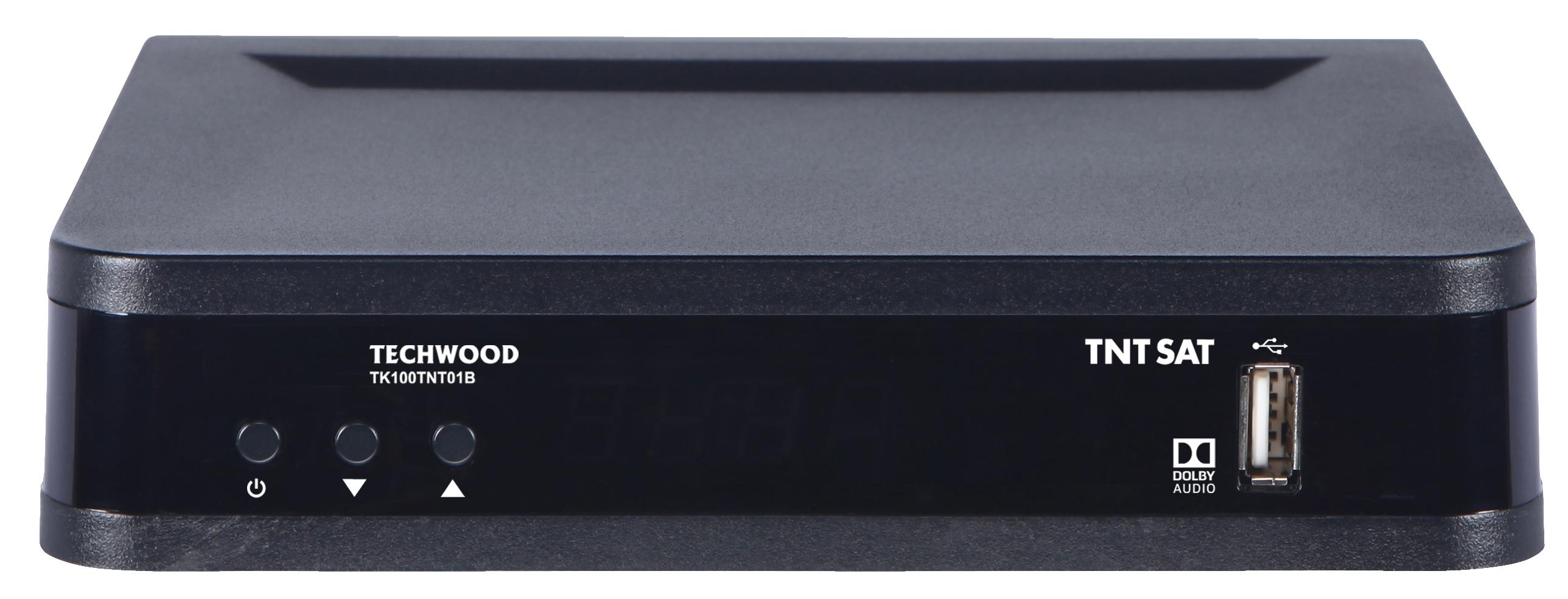 récepteur satellite techwood tntsat hd tk100tnt01b