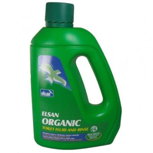 2 x produit wc chimique organic elsan 2 litres soit 4 litres