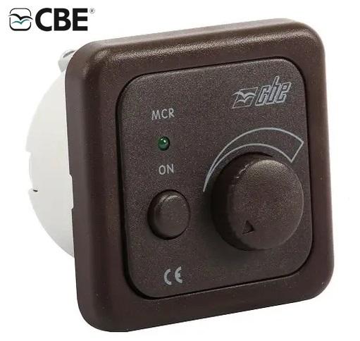 variateur électrique 12v marron