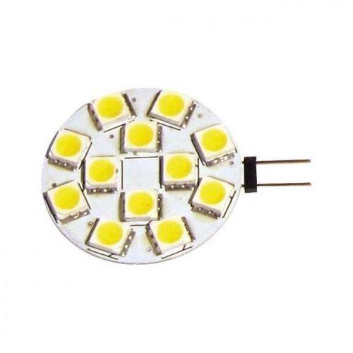 2 x ampoule g4 led smd 180 lumens sortie latérale inovtech diametre 28 mm