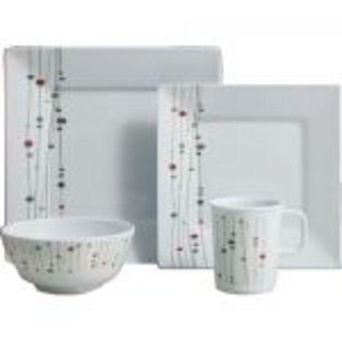 set vaisselle melamine linea 16 pieces