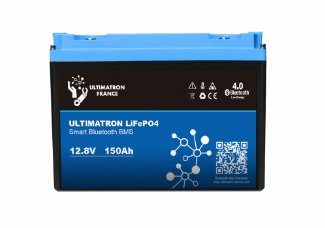 batterie lithium ultimatron lifepo4 smart bms 12.8v 150ah