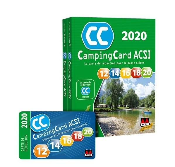 guide camping card acsi 2017
