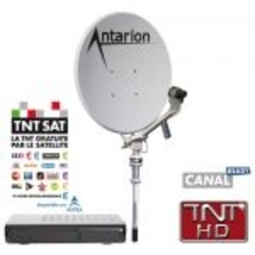 antenne manuelle easy 65cm antarion + demodulateur hd