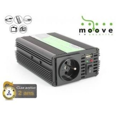 convertisseur camping car moove 12 220v 1000w sortie usb. Black Bedroom Furniture Sets. Home Design Ideas