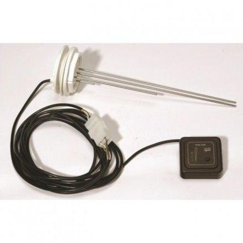 module contrôle eau usée marron + sonde