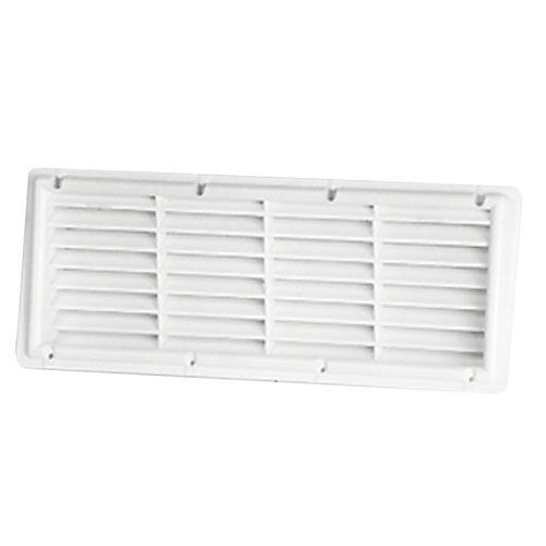 grille a plaquer blanc 364 x 138 mm