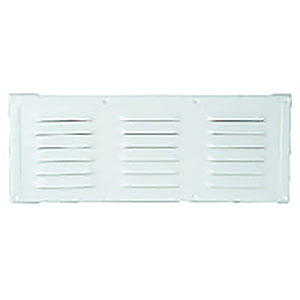 grille anodisee 360 x 115 mm