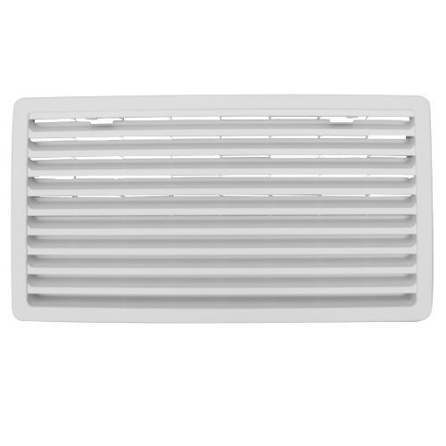grille d'aeration blanche thetford 52 cm  x 28 cm