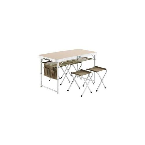 table valise + 4 tabouret