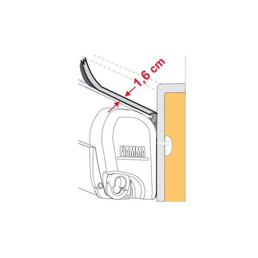joint anti-pluie fiamma rain guard s largeur 1.6cm, au mètre