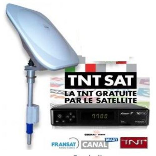 kit réception tnt par satellite ms 530 avec demodulateur fransat hd