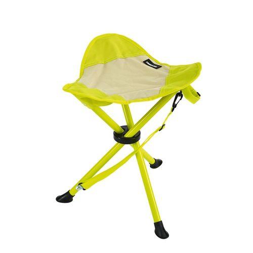 tabouret camping beige vert trigano. Black Bedroom Furniture Sets. Home Design Ideas