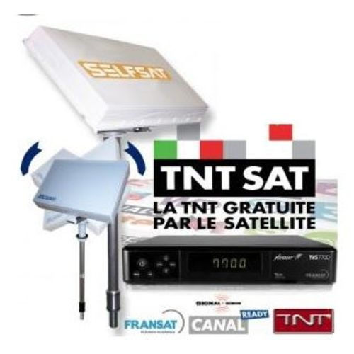 kit antenne msat330 tnt sat + demodulateur sat